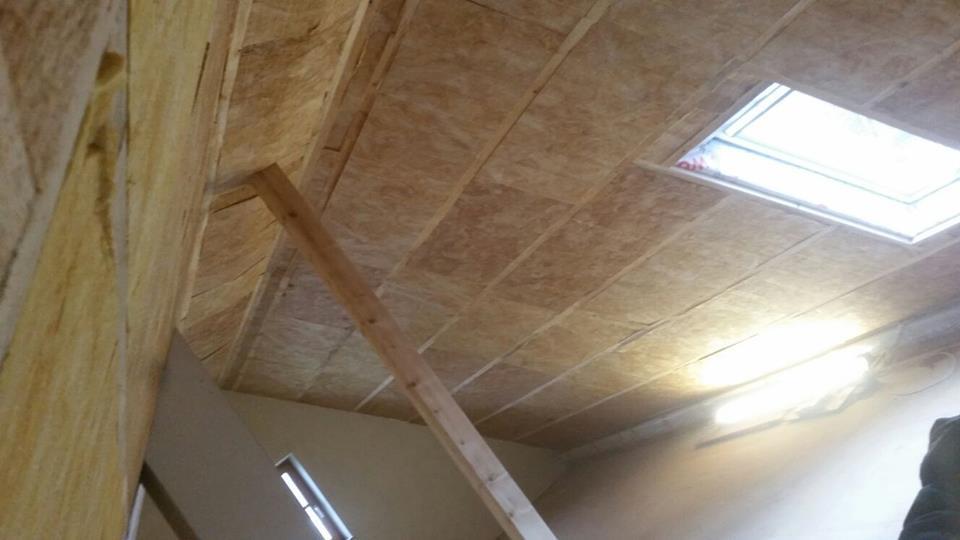 Dachbodenisolierung